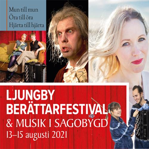 Ljungby Berättarfestival & Musik i Sagobygd till Alvesta